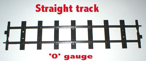 "1353 ""O"" Gauge Rail Straight Track"