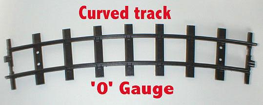 1354 Curved Track O Gauge